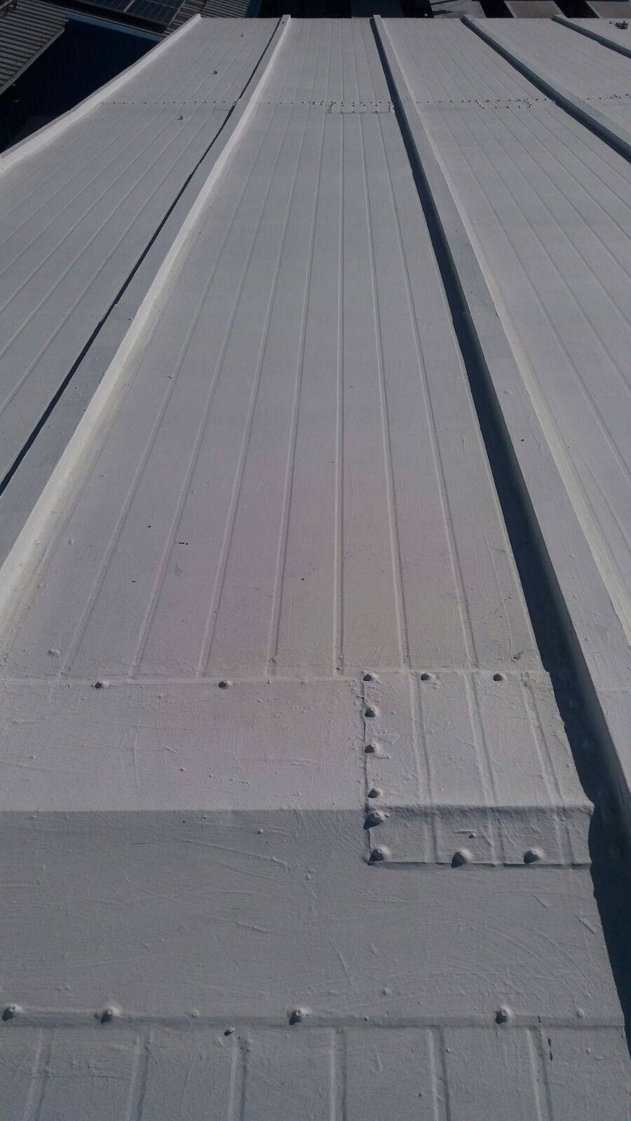 Waterproofed Freezer Roof At Bico Limited